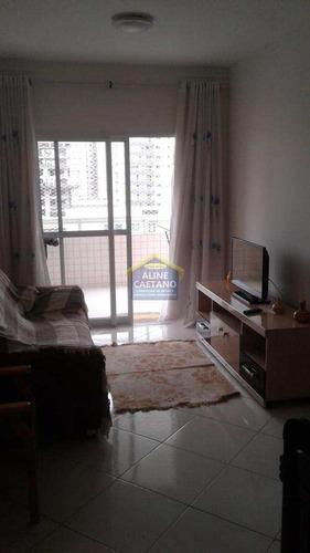 Apartamento Com 2 Dorms, Tupi, Praia Grande-sp - Vact81