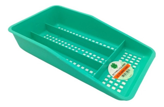 Cubiertero Organizador Cajon Cocina Plastico Porta Cubierto