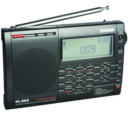 Rádio Tecsun Pl-660 Pll Ssb Am Fm Sw Lw Vhf Air Band
