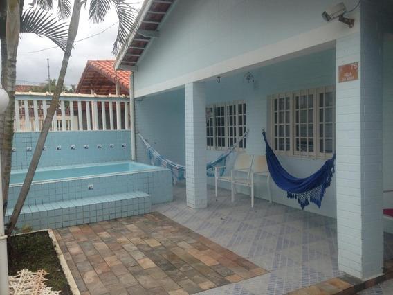 Casa Na Praia 4 Dormitórios Mongaguá R$ 320 Mil