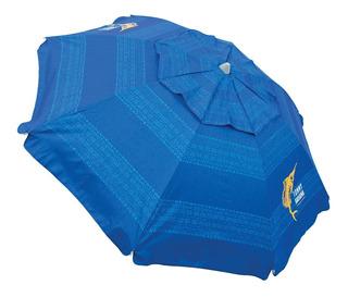 Sombrilla Para Playa Tommy Bahama Azul Upf / Spf 50+