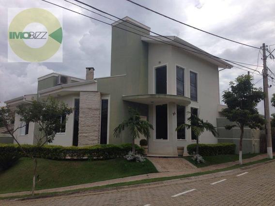 Casa Residencial À Venda, Condomínio Jardim Fiorela, Valinhos. - Ca1868