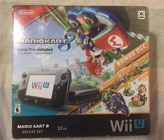 Nintendo Wii U Deluxe Set Mario Kart 8