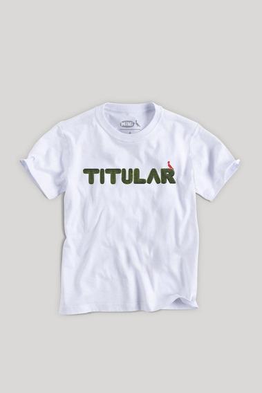 Camiseta Mini Filho Titular Reserva Mini