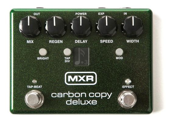 Pedal De Efeito Mxr Carbon Copy Delux Analog Delay M292