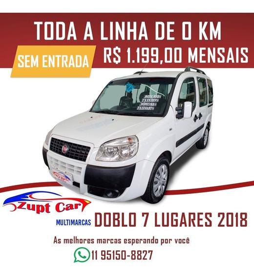 Fiat Doblo 1.8 Essence / Sem Entrada 7 Lugares