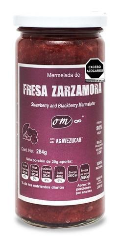 Mermelada Untable De Fresa Om8 284 Gramos.