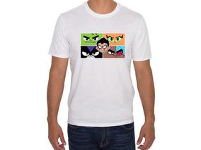 Camiseta Estampada Jóvenes Titanes