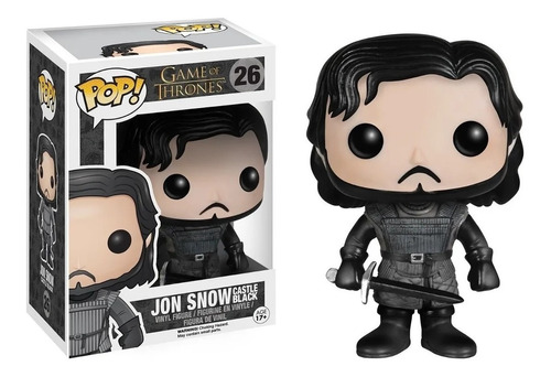 Figura Funko Pop Jon Snow 26 Game Of Thrones Castle Black