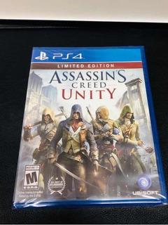 Assassins Creed Unity Ps4 Limited Edition ( Sellado ) Envios