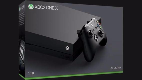 Console Xbox One X 1tb 4k Hdr Uhd