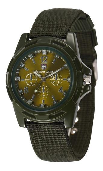 Relógio Militar Gemius Army!! Envio Imediato Para Todo Br