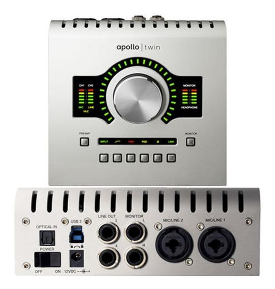 Interfaz Universal Audio Apollo Twin Solo Thunderbolt