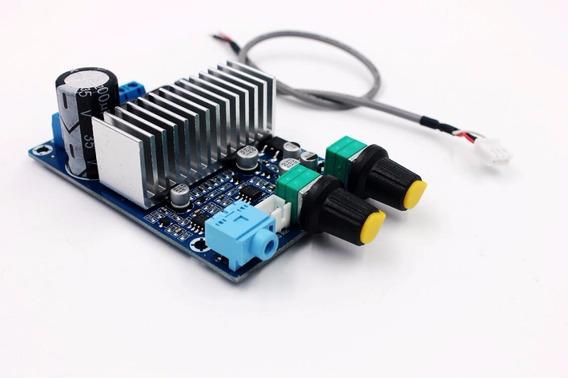 Placa Amplificador Digital Subwoofer C Ajuste De Corte Low