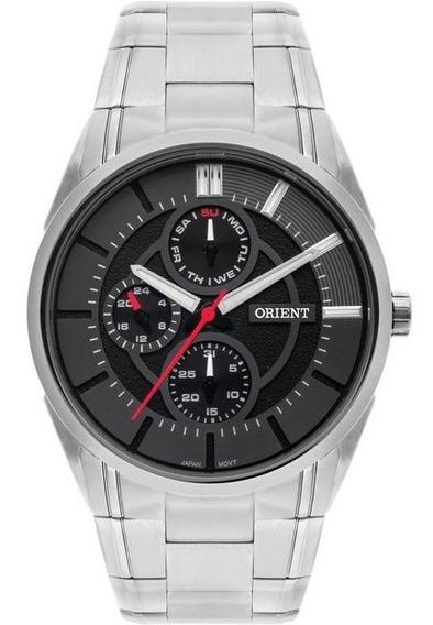 Relógio Orient Masculino Prata Mbssm083 P1sx Multifunção