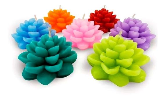 Vela Flotante Flor De Loto Colores Varios - Arcana Caeli