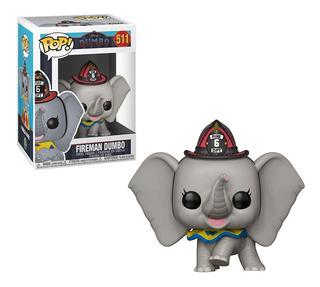 Funko Pop Fireman Dumbo #511 Muñeco Original Coleccionable
