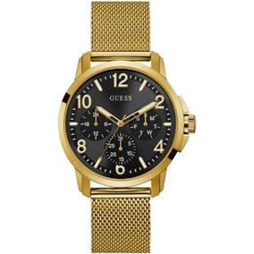 Relógio Masculino Guess Dourado Multifunção 92681gpgtda2