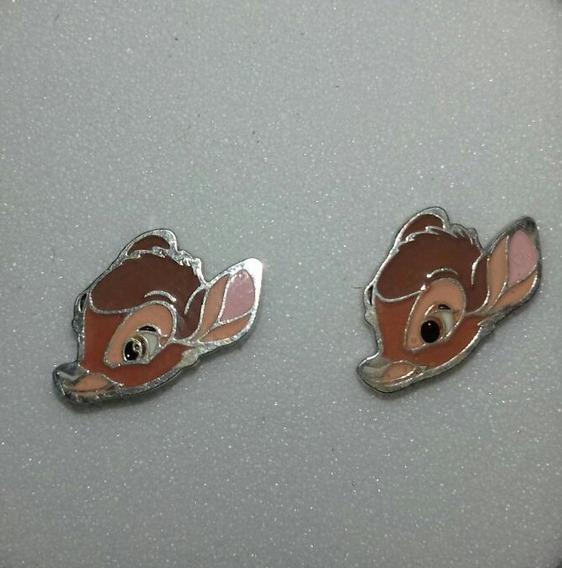 Aretes Disney Bambi Plata 9.25