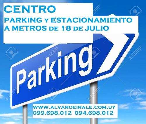 Centro: Parking Funcionando Con Potencial