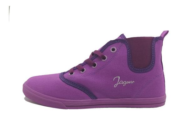 Botitas Jaguar 895 Violeta Talle 35 36 38 40 Botitas Mujer