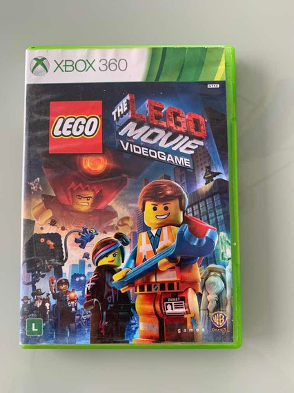 Jogo Xbox 360 The Lego Movie