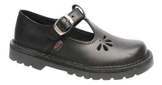 Zapatos Colegiales Escolares De Cuero Marcel Del 23 Al 33