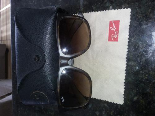 d5da18501 Oculos De Sol Seminovo Ray Ban Original Modelo Justin Bieber