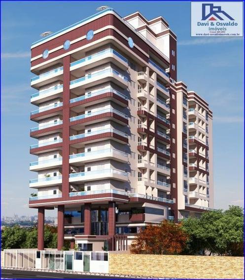 Apartamento 1 Dormitório Para Venda Em Praia Grande, Guilhermina, 1 Dormitório, 1 Banheiro, 1 Vaga - Ap00110