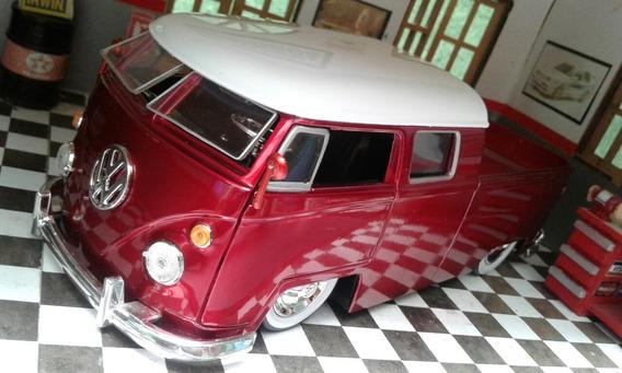 Miniatura 1963 Vw Kombi Truck 1/24 Customizada!