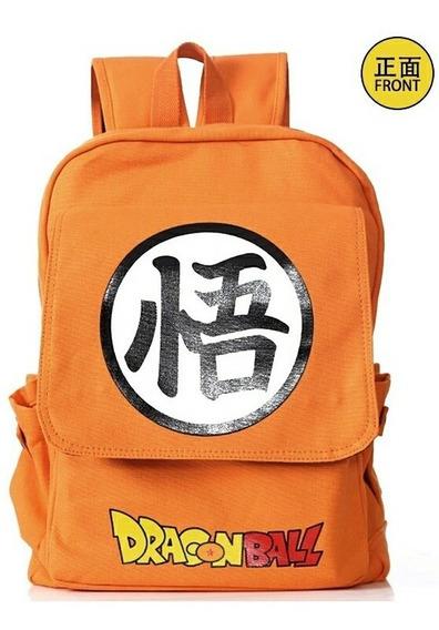 Dragon Ball Z Mochila Bolsa Escolar Pronta Entrega