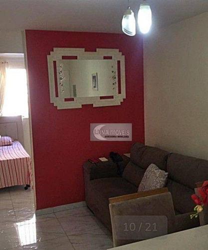 Imagem 1 de 12 de Apartamento Com 2 Dormitórios À Venda, 45 M² Por R$ 214.000,00 - Jardim Das Acácias - São Bernardo Do Campo/sp - Ap3216