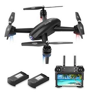 Allcaca Fpv Rc Drone Con Camara Doble 720p Hd Video En Direc