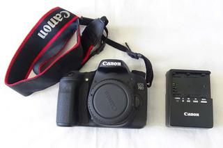 Camara Canon Eos 70d (solo Cuerpo) Digital Af / Ae Excelente