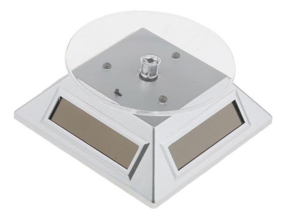 Energia Solar Relógio Rotativo Telefone Jóias Anel Display S