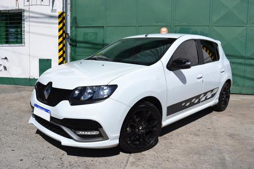 Renault Sandero Rs 2017 / 54.000km / Unico Dueño - Permuto