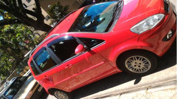 Fiat Idea Motor 1.4 2012 Vermelho 5 Portas