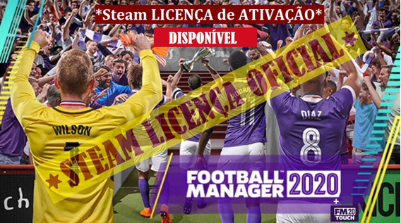 Fm 2020 Football Manager 2020 Key Steam Oficial + Pack Logos