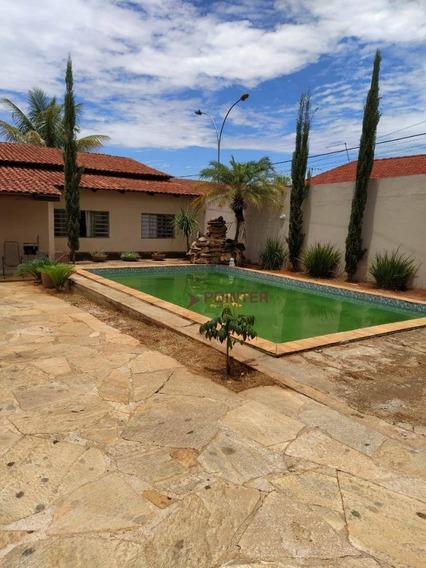 Casa Com 3 Dormitórios À Venda, 5 Vaga De Garagens.128 M² Por R$ 275.000 - Garavelo Residencial Park - Aparecida De Goiânia/go - Ca0058