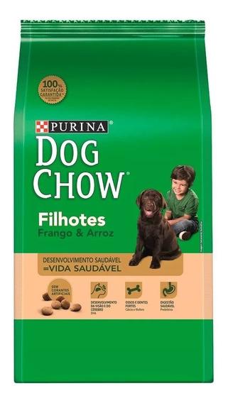 Ração Dog Chow Filhote Frango 15kg