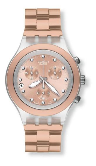 Reloj Swatch Svck4047ag Full-blooded Caramel