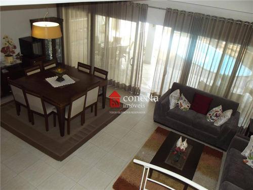 Casa Com 4 Dormitórios À Venda, 396 M² Por R$ 1.700.000,00 - Condomínio Metropolitan Park - Paulínia/sp - Ca0229
