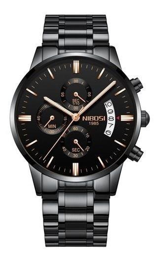 Relógio Masculino Nibosi 2309-1 Orginial 12x Sem Juros