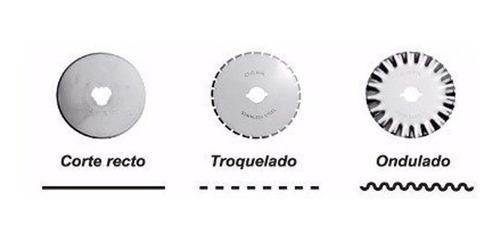 Repuesto Cutter Cortador Rotativo Dasa Tela X 3 U Surtidas