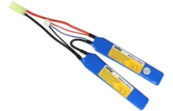Bateria Lipo Airsoft Aeg 1300mah 7.4v 15c Ffb-021
