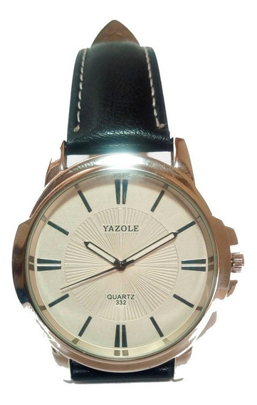 Reloj De Hombre, Quarzo. De Lujo, Moderno Y Elegante. Piel
