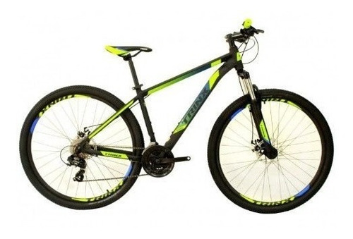 Bicicleta Trinx Mtb M100 Pro Aro 29 Verde Shimano Tam 15 M