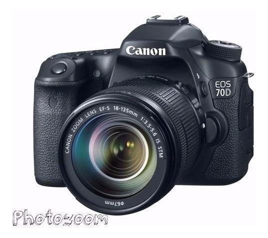 Camera Reflex Profissional Canon 70d C/18-55