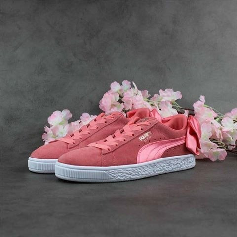 Puma Suede Bow Wn