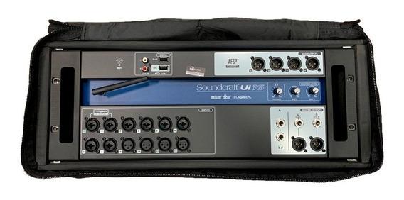 Mesa De Som Digital Soundcraft Ui16 Wireless + Capa Rack 4u